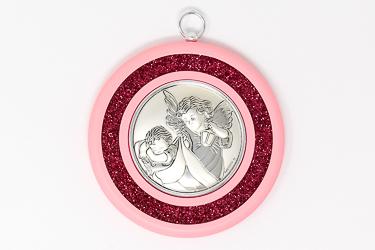 Guardian Angel Baby Crib Medal
