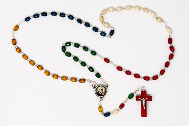 Pio Missionary Rosary Beads.