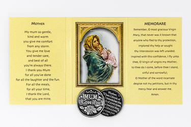 Pocket Token & Booklet - Mother I Love you