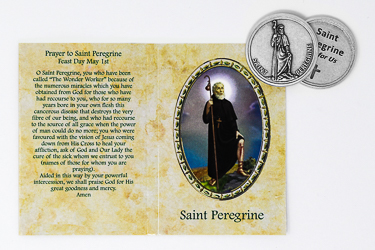 Pocket Token - St Peregrine.