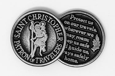 Pocket Token - St.Christopher.