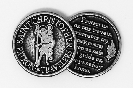Pocket Token - St.Christopher.