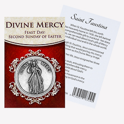 Pocket Token -  Divine Mercy.