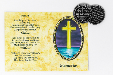 DIRECT FROM LOURDES - Catholic Pocket Tokens