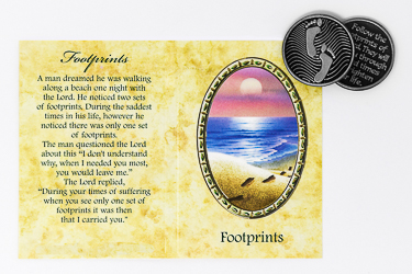 Pocket Token & Booklet - Footprints