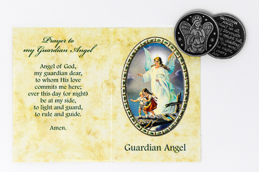 Pocket Token & Booklet - Guardian Angel