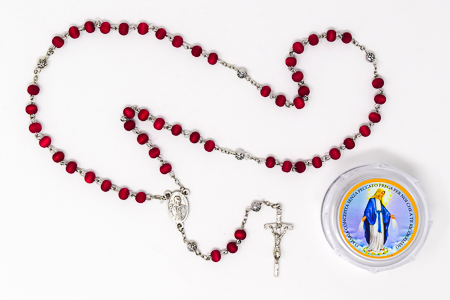 Rose Scented Pope Francis Rosary Beads.
