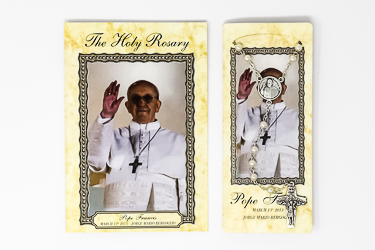 Pope Francis Rosary & The Holy Rosary Booklet