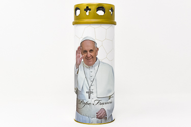 Pope Francis Candle.