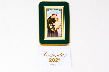 2021 Calendar St. Anthony.