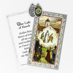 Prayer Card to Our Lady of Knock.