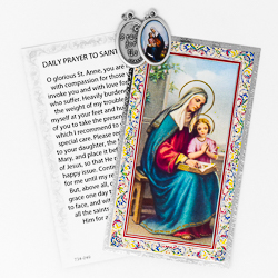 Prayer Card to St.Anne.