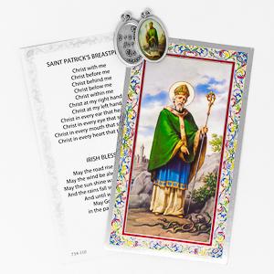 Prayer Card to St. Patrick.