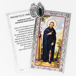 Prayer Card to Saint Peregrine.