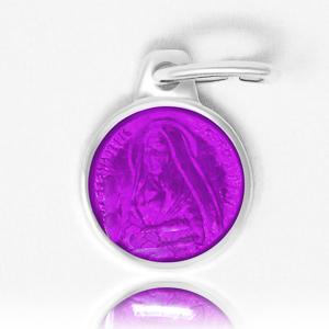 Purple Bernadette Pendant.