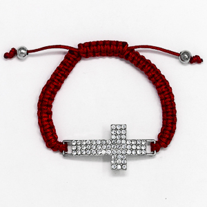 Strass Crystal Cross Bracelet.