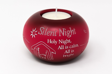 Red Holy Night Candle Holder.