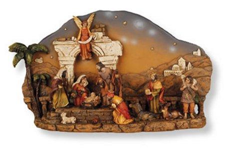 Nativity Plaque.