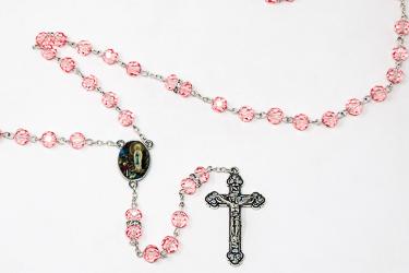 Rose Crystal Rosary