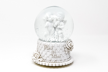 Musical Angel Snow Globe.