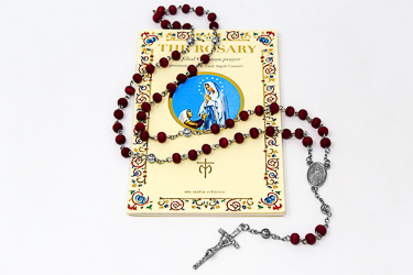 Rose Scented Rosary Beads.