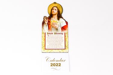 2022 Calendar Sacred Heart of Jesus.