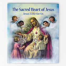 Sacred heart of Jesus Book.