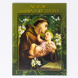 Saint Anthony Prayer Book.