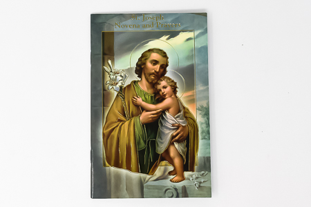 Saint Joseph Novena & Prayer Booklet.