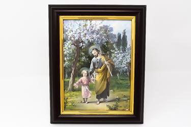 Saint Joseph Wood Picture.
