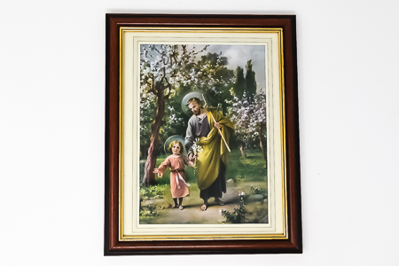 Saint Joseph with Jesus Picture.