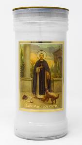 Saint Martin Pillar Candle.