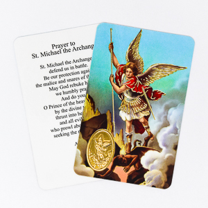 Saint Michael Prayer Card