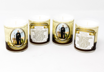 Saint Peregrine Votive Candle.