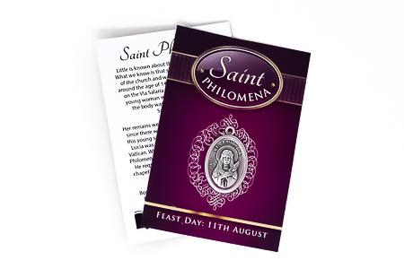 Saint Philomena Medal.