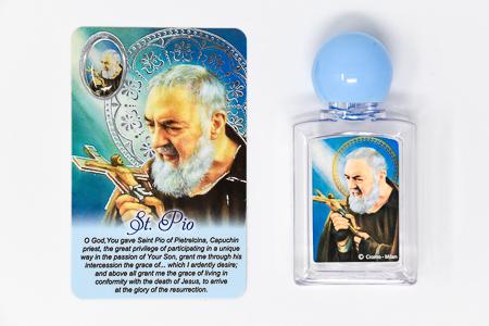 Saint Pio Holy Water Bottle.