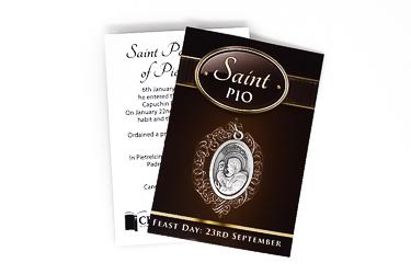 Saint Pio Medal.