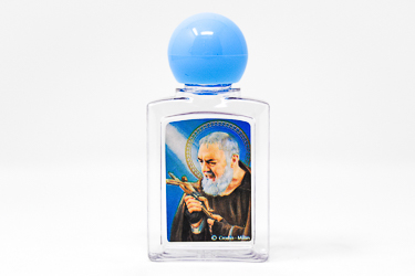Saint Pio Holy Water Bottle.