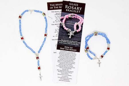 Rosary Bracelet & Full Rosary.