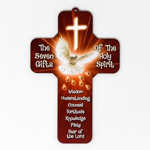 Wooden Confirmation Cross.