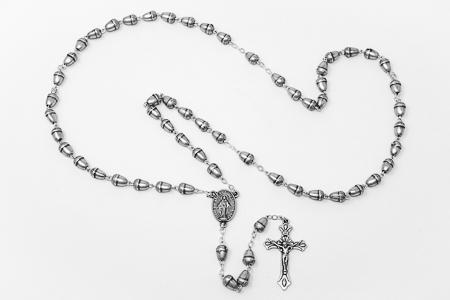 Silver Acorn Rose Beads.