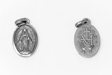Miraculous Medal Pendant.