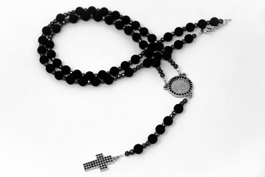 Volcanic Rock  Rosary