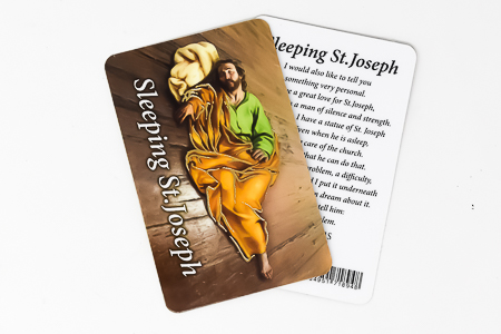 Prayer Card to St Joseph.