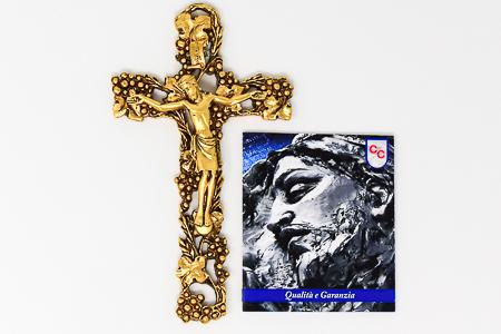 Gold Crucifix.