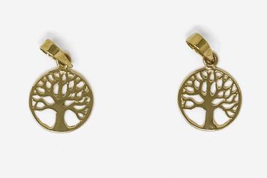 9ct Gold Tree of Life Pendant.