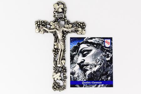 Silver Crucifix.