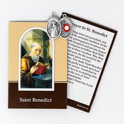 Saint Benedict Relic Medal.