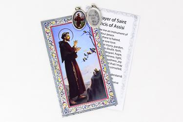 St.Francis Prayer Card.
