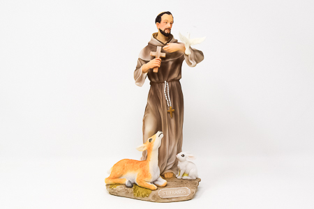 St.Francis Statue.